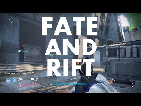 Fate and Rift , a DESTINY -Crucible-  