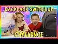 BACKPACK SWITCH UP CHALLENGE We Are The Davises mp3