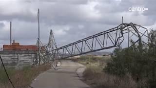 Região Centro foi a mais atingida pela tempestade Leslie