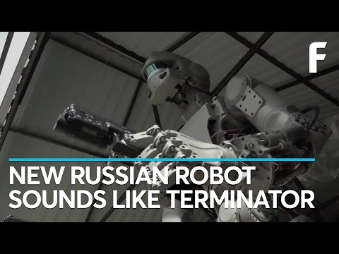 Russia's New Space Robot Can Drive, Use Tools... and Shoot