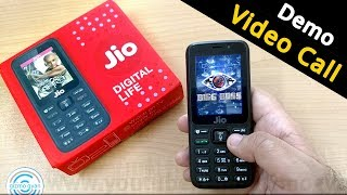 jio phone video calling feature test by gizmo gyan in hindi