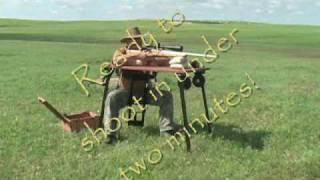 GreatBench Portable Shooting Bench Setup Video