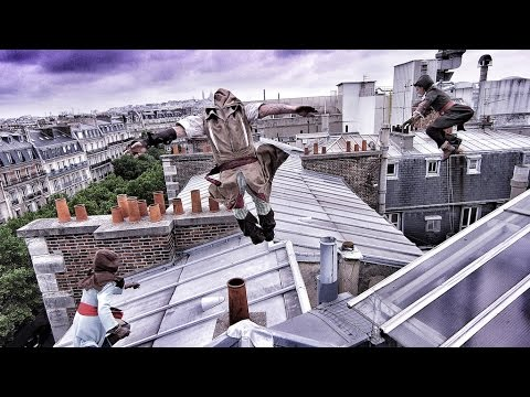Behind The Scenes - Assassin's Creed Unity meets parkour