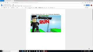 Roblox Shadow Run OST - 03 - Robloxian Blacklights