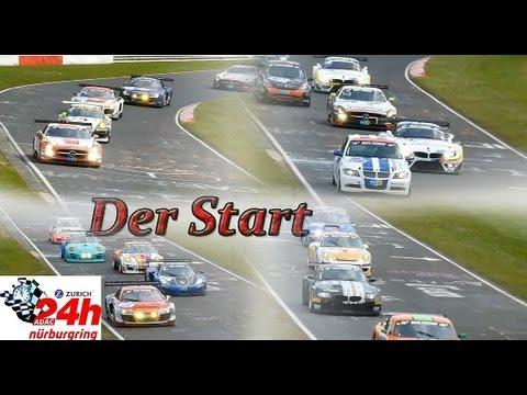 40. ADAC 24h Rennen Nürburgring 2012 / Die Startphase