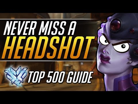 MASTER HEADSHOTS on WIDOWMAKER - Top 500 Gameplay Tips | Overwatch Pro Guide thumbnail