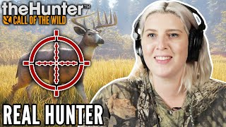 Real Hunter Tracks Their Prey | Hunter: Call of The Wild