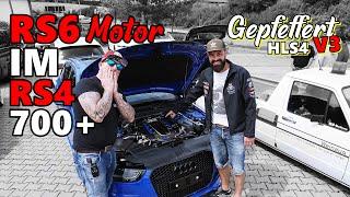 RS6 4G Motor mit 7XX PS im RS4 B8/8K und GEPFEFFERT.COM / Made by KW V3 incl. Gepfeffert HLS4Dropkit