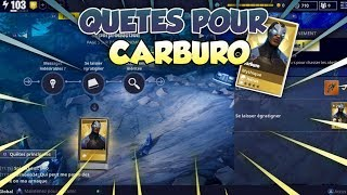 WHAT TO HAVE THE CARBURO - FORTNITE SAUVER THE WORLD