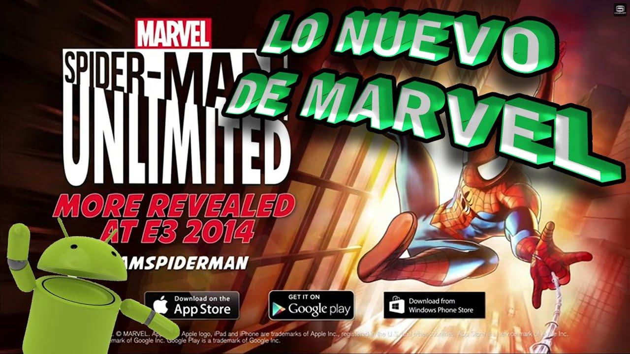 spider man unlimited el nuevo juego de marvel  para android  YouTube