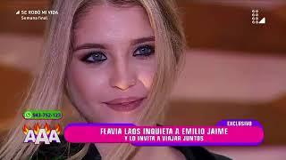 Flavia le hace tremenda propuesta a Emilio
