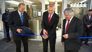 Inauguration of the new FISU headquarters at the Synathlon in Lausanne - FISU 2018