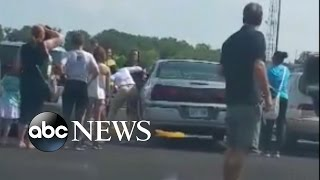 Kansas Woman Uses Tire Iron to Save Baby Trapped in Hot Car | Good Morning America | ABC News
