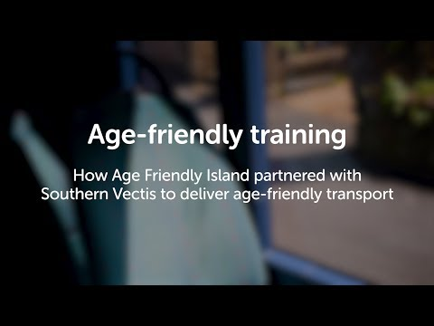 Age-friendly training: Improving services for older customers