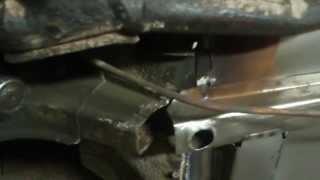 Кузовной ремонт Ваз 2106 Часть 27