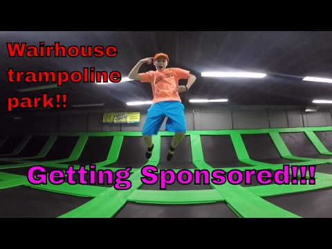SPONSORED BY THE WAIRHOUSE TRAMPOLINE PARK - SLC UTAH!!! TRIPLES AND MORE!!!
