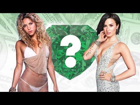 WHO'S RICHER? - Shakira or Demi Lovato?...