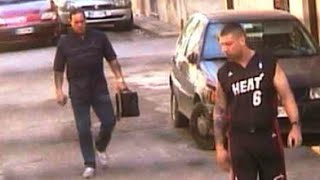 Two mobsters from Canada killed in Sicily — police video from Italy with court authorized wiretaps
