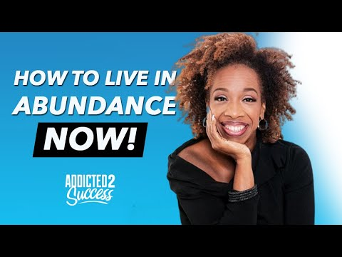 Lisa Nichols - How to Live in Abundance NOW!