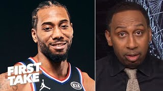Stephen A. is hearing Kawhi is strongly considering the Lakers in free agency   First Take