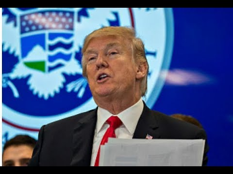 President Donald Trump Gives URGENT Speech to  Customs and Border Protection Agents and Officials