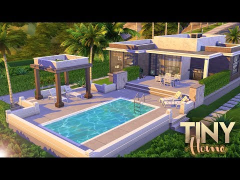 3-BEDROOM TINY HOME + MOSCHINO STUFF GIVEAWAY | The Sims 4 Base + Moschino Only Speed Build