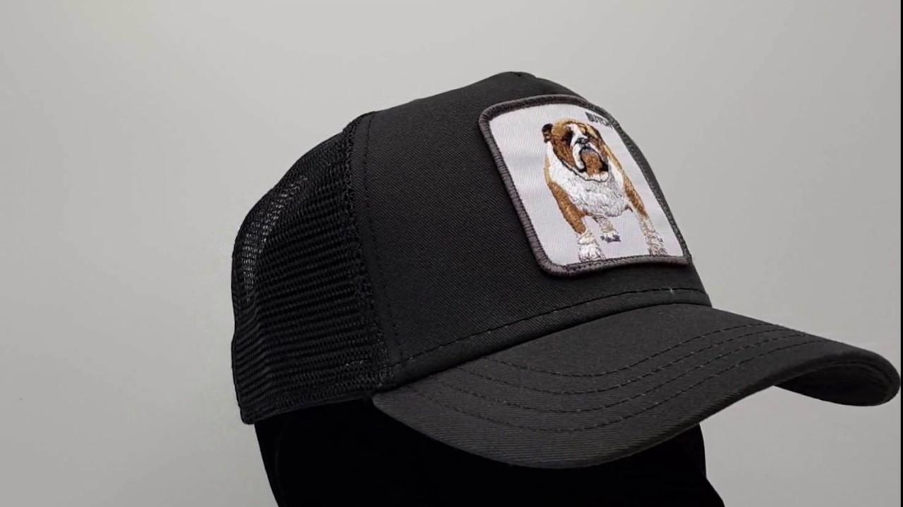 a96ac658a5374 Goorin Bros. Butch Trucker cap - Black - €34
