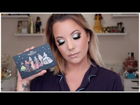 COLOURPOP X DISNEY EASY SILVER CUT CREASE | MAKEUP TUTORIAL | BRIT CLARKE thumbnail