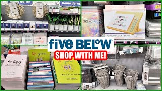 FIVE BELOW SHOP WITH ME 2021 NEW FINDS HOME DECOR, ART SUPPLIES, BOOKS, PLANNERS