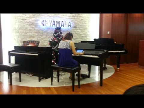 winter games piano by yuki wada on clavinova cvp 609. Black Bedroom Furniture Sets. Home Design Ideas
