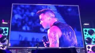 Robbie Williams - We Will Rock U / Love Rock'n'Roll - 14/10/15 Adelaide HD FRONT ROW