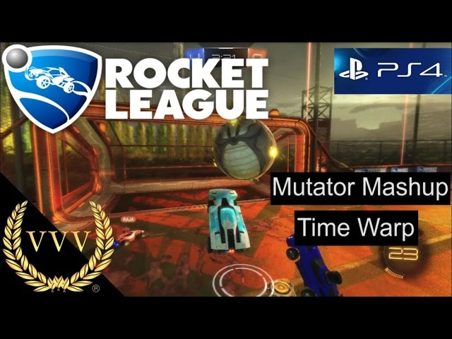 Rocket League - Mutator Mashup   Time Warp