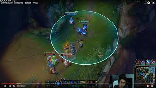Platinum 2 Ashe Coaching Dying to ganks How do you know you win fights ADC Priorities