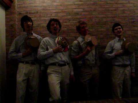 BB Quartet of Doom singing Trick or Treat and Farewell Ladies on Halloween '08