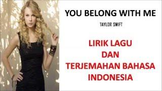 Baixar YOU BELONG WITH ME - TAYLOR SWIFT | LIRIK LAGU DAN TERJEMAHAN BAHASA INDONESIA