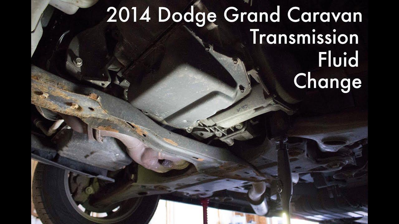 2014 Dodge Grand Caravan Transmission Fluid Change Youtube
