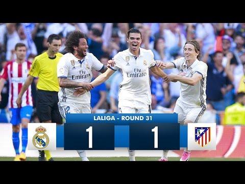 Real Madrid 1-1 Atlético Madrid HD 1080i Full Match Highlights (08/04/17)