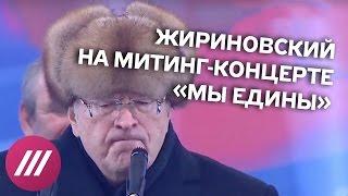Жириновский о том, как Россия всех везде победила  День народного единства