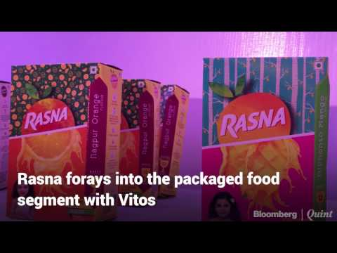 Rasna Enters Packaged Food With Baked Snack