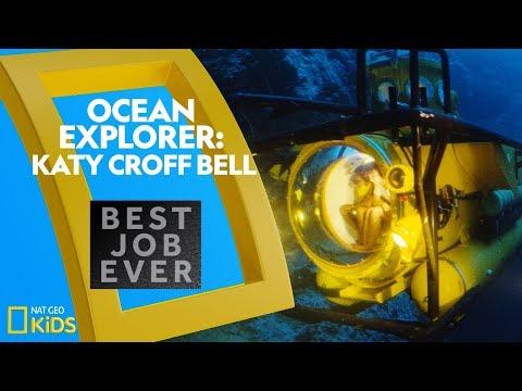 Ocean Explorer: Katy Croff Bell | Best Job Ever | Nat Geo Kids