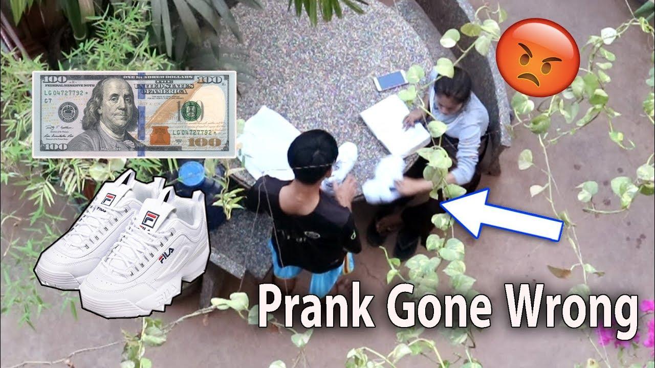 Buying 100$ Shoes Prank My Mom Gone Wrong - Khmer Prank 2019/Drawing Life