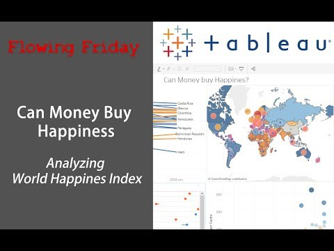Tableau Analysis - Can Money Buy Happiness