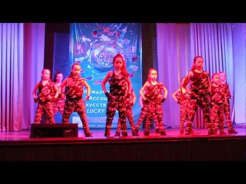 Танец  Милитари  Студия танцев Ксении Пахомовой EURASIA