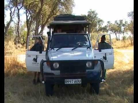 Okavango - a 4WD camping safari in Moremi NP, Botswana (Part 3) 0:31:22