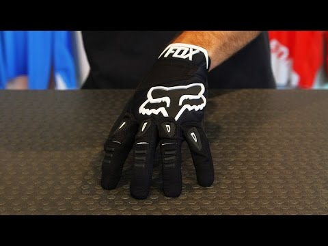 Fox Pawtector Race Gloves Black