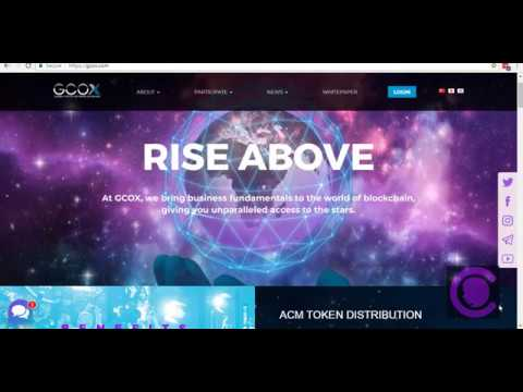 GCOX Review - World first CELEBRITY Crypto token Exchange