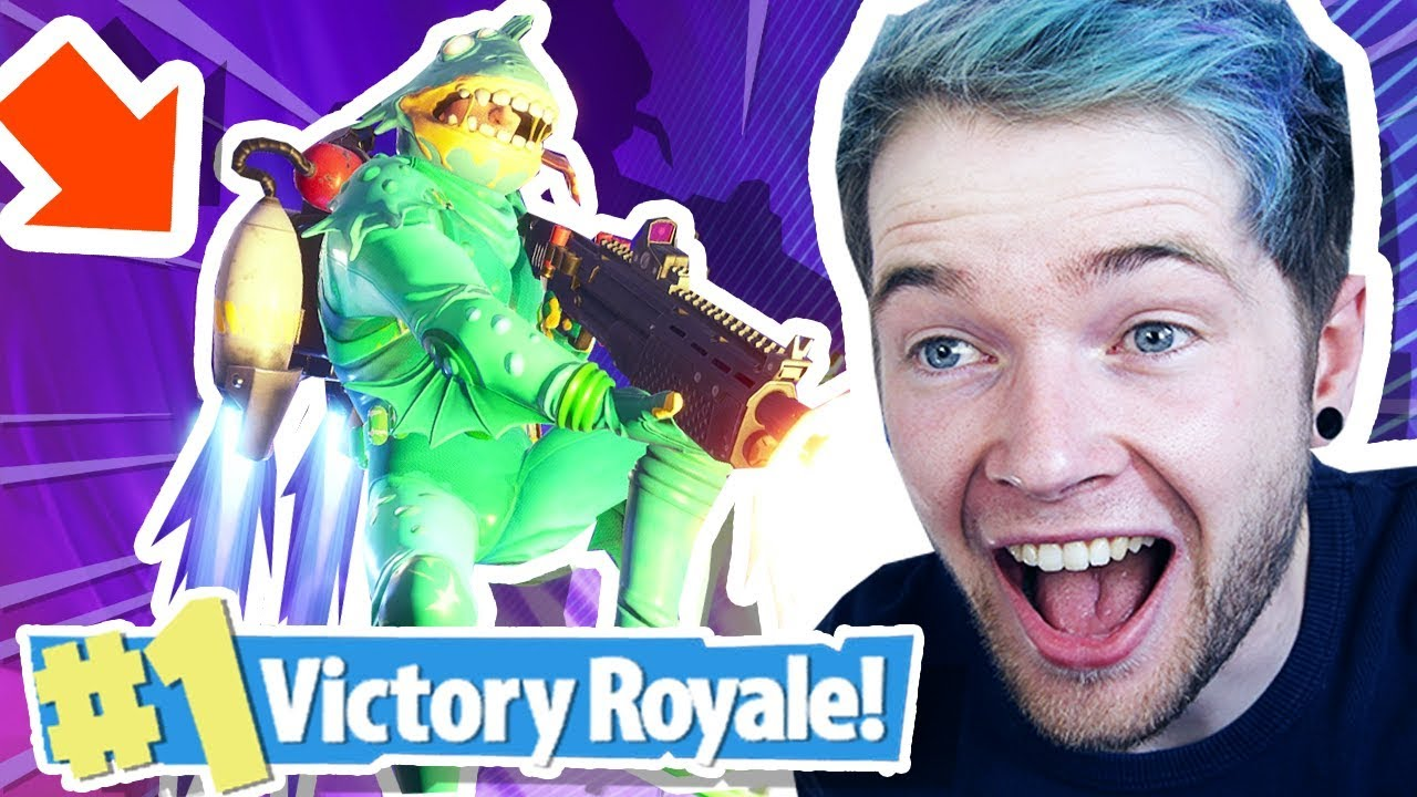 DANTDM REACTS TO FORTNITE JETPACK MODE!!!