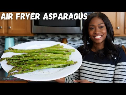 Easy Seasoned Air Fryer Asparagus