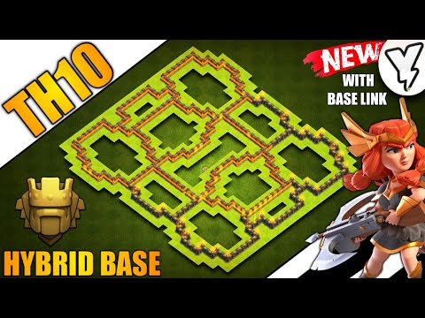 [INSANE] TOWN HALL 10 (TH10) TROPHY/FARMING BASE 2019!! | NEW TH10 HYBRID BASE 100% TESTED ✔✔- COC