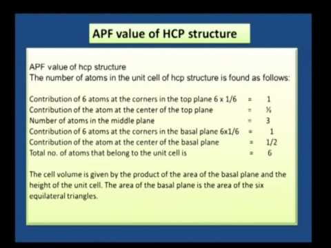 Crystal Structure And Thermal Properties 08